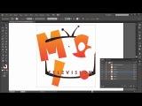 Курс по векторному рисованию в Illustrator для начинающих. Урок 9